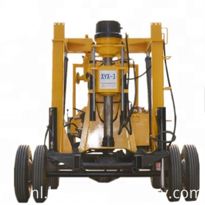 Portable Truck Drilling Rig Machine
